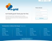 h-grid Branding & UI Design
