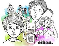 Eiban's old portfolio images