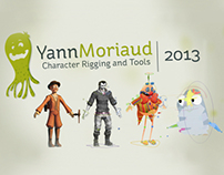 Demoreel 2013 - Character Rigging and Tools