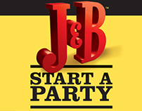 J&B Start a party - Event tab