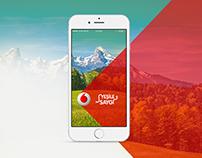 """Vodafone Mobile App """"Yeşile Saygı"""""""
