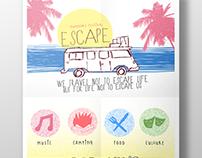 'Escape' Outdoors Festival - Project Brief Practice