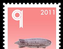 Roald Amundsen Postage Stamps
