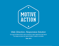 Motive Action, A Responsive Web Solution
