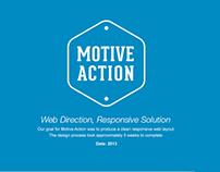 Motive Action, A Responsive Web Solution