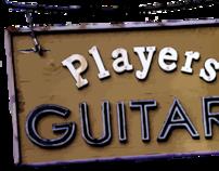 Players Guitars Website