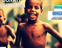 Run for a Cause Delhi Marathon 2012 Creative banners