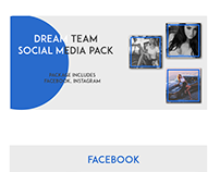 Dream Team Social Media pack