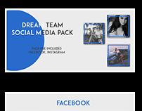 Dream Team Social Media pack