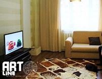 """Квартира в жк """"Запад"""" г.Астана. Казах"""