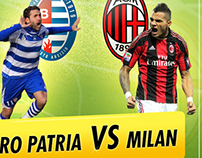 Football Match: Milan - Inter