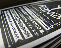 Tarjetas Tipograficas // Letterpress Business Cards