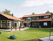 Isabel och Claes´s house, Halmstad