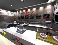 Cafe Rumi Interior Design
