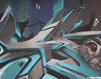 Selected graffiti works