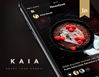 Kaia. Social Application