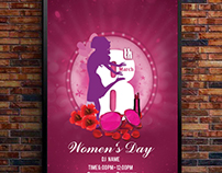 International woman's day poster