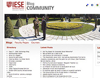 IESE Blog Community