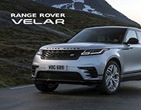 Land Rover Velar Promo Page - 2018.