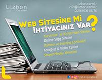 Lizbon Creative Web Sitesi & Reklam Çalışması