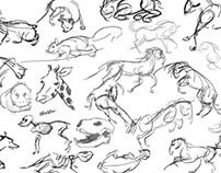 Gesture Drawings 2013
