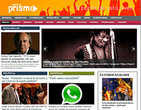 Webdesign for DiarioElPrisma - 2012