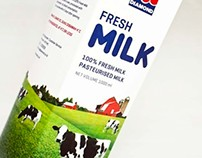 Diamond Milk Packaging