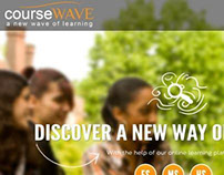 Course Wave Beta Sign up Mock