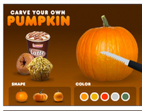 Carve Your Own Pumpkin for DD