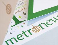 Carte de vœux Metronews