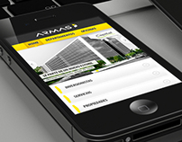 Diseño web movil - Inmobiliaria Armas