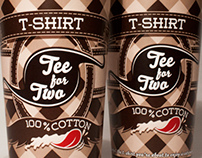 Tee for Two Packaging