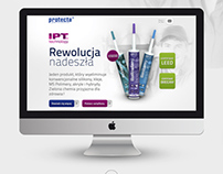 IPT Technology - Landing Page for PROTECTA