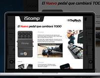 iStomp Digitech Audiomusica