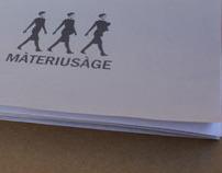 A logo for Màteriusàge