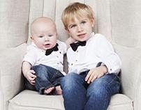 Nataly, Klim & Leo -family portrait