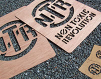 Non Toxic Revolution Stencils and Promo Materials