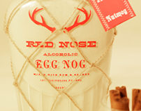 Red Nose Alcoholic Egg Nog