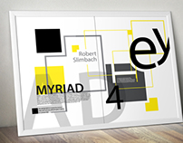 Myriad Typeface Poster