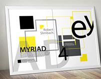 Myriad Typeface Poster