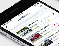Sell Auto App - Manage Mockup
