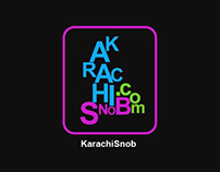 Karachi Snob Logo and iPad App Design