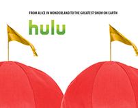 Hulu Illusion Print Ads