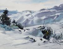 Watercolor/ Winter
