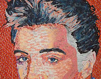 Elvis - Created with Recycled Materials