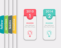 Timeline Free Powerpoint Template On Behance