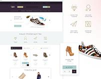 """Luxury"" E commerce Template"