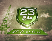 23 March Ident