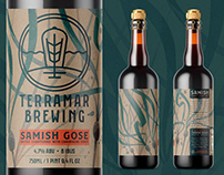 Terramar Samish Gose Packaging