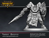Privateer Press Character Anston Durst